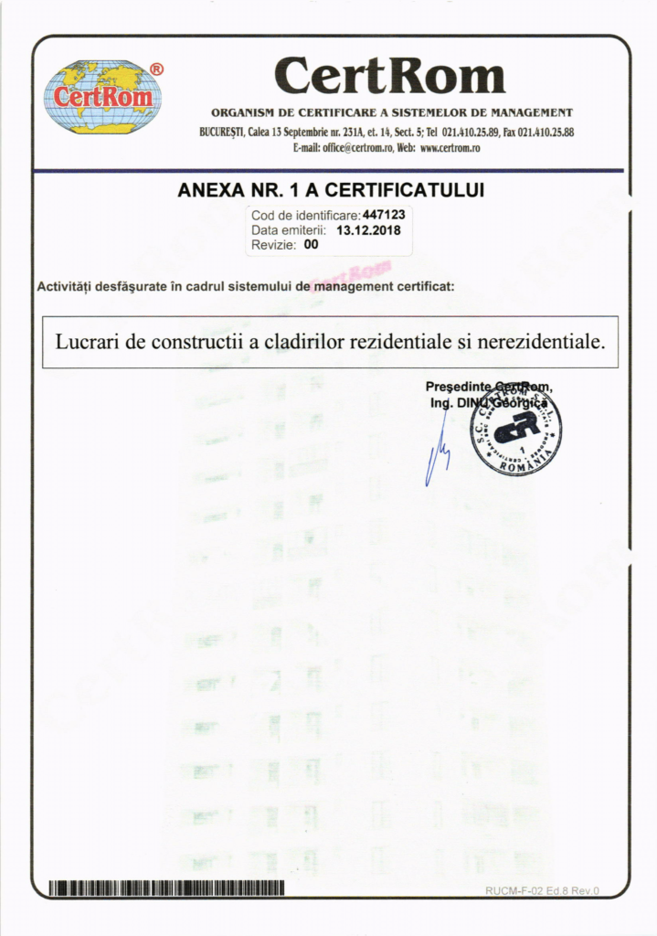 Certificare ISO-9001